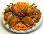 Kiva Atkinson Rock Cornish Hen Platter