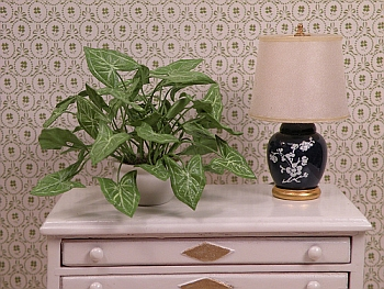 dollhouse miniature plant - Arrowhead Vine large