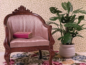 dollhouse miniature plant - Monstera