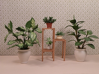 dollhouse miniature plants - Plant Stand