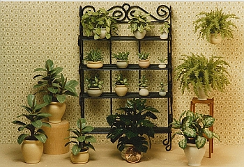 dollhouse miniature plant - Set 1